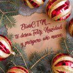 Feliz Navidad y próspero año nuevo desde EliasCTM